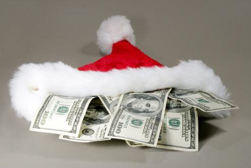 christmas cash - present