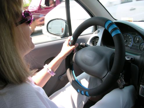 kobieta auto